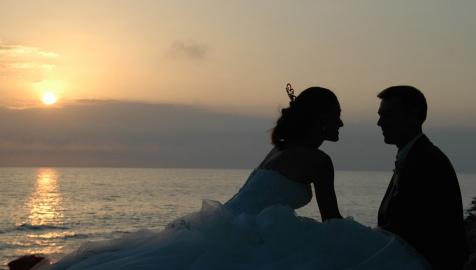 hochzeitsfotografie andalusien sonnenuntergang